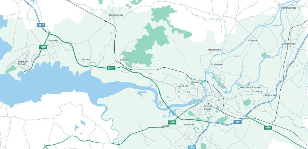 Limerick-Shannon Metropolitan Area Transport Strategy consultation meeting 28th October at 7pm