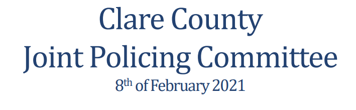 Garda Presentation from JPC meeting on 8th February 2021