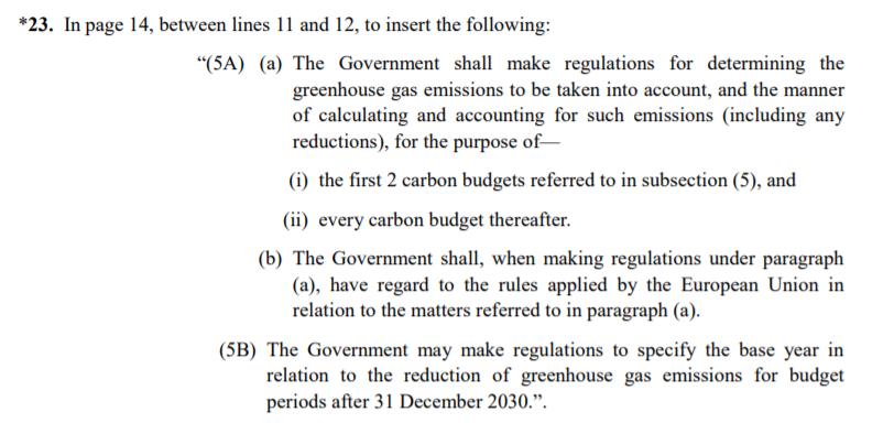 Text of Amendment 23